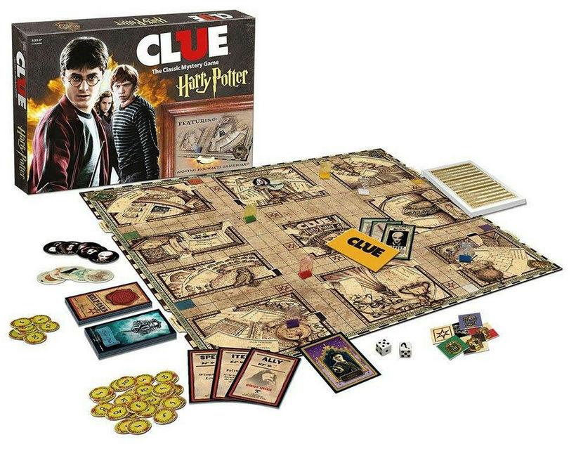 Harry Potter Clue: Skemmtilegt, klassískt fjölskylduspil fært á glæsilegan hátt ...