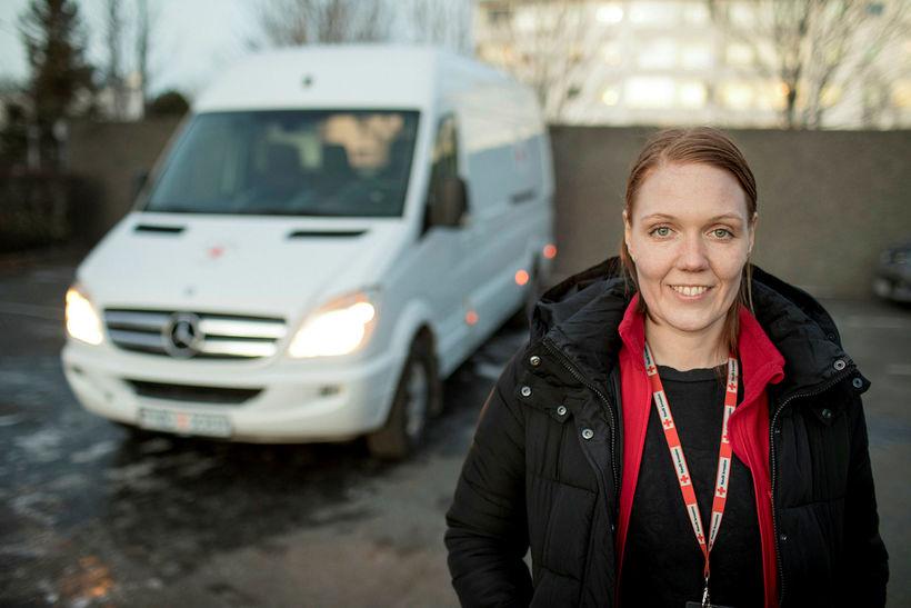 Svala Jóhannesdóttir, verkefnisstýra Frú Ragnheiðar – skaðaminnkandi verkefnis fyrir fíkla …