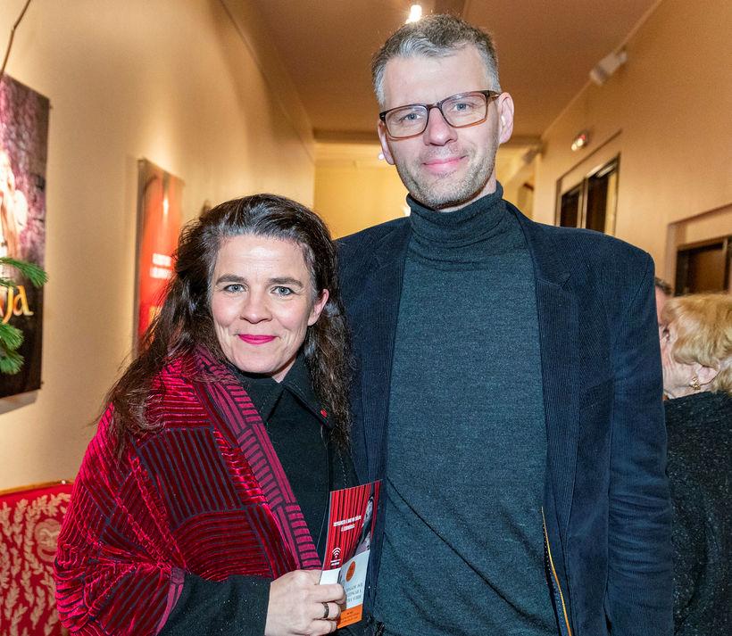 Helga Vala Helgadóttir og Grímur Atlason.