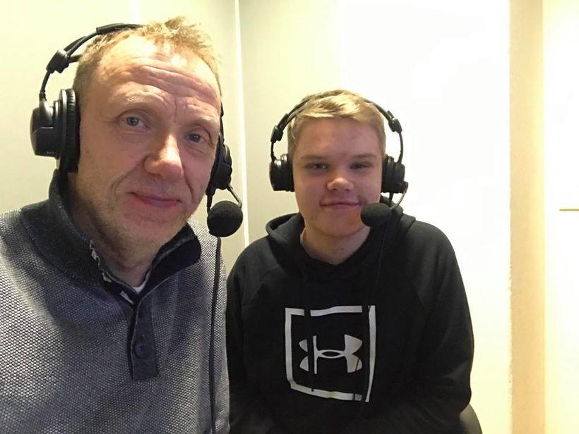 Páll Sævar lýsti því sem fyrir augu bar og sonur ...