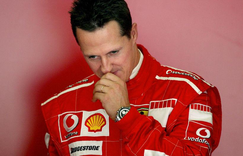 Michael Schumacher er 50 ára í dag.