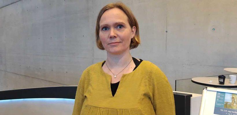 Margrét Guðnadóttir, hjúkrunarfræðingur og doktorsnemi.