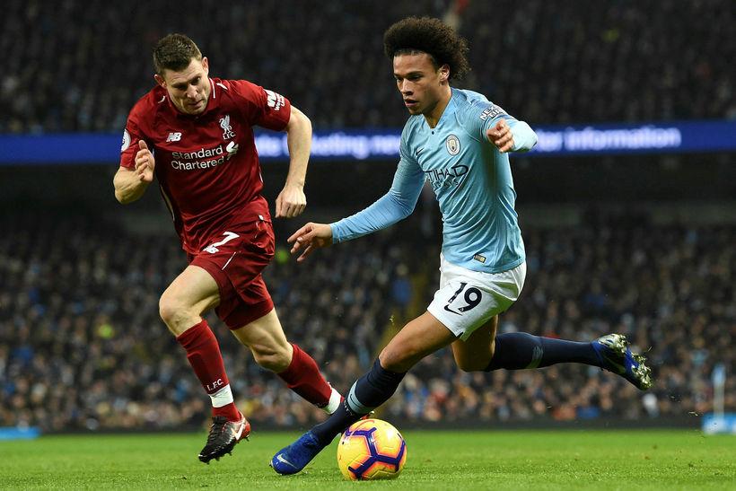 Manchester City seldi Leroy Sané til Bayern München fyrir tæplega …