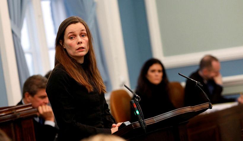 Katrín Jakobsdóttir forsætisráðherra segir að hugur hennar standi ekki til ...