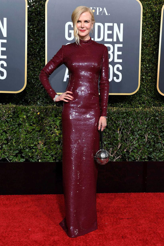 Nicole Kidman í kjól frá Michael Kors.