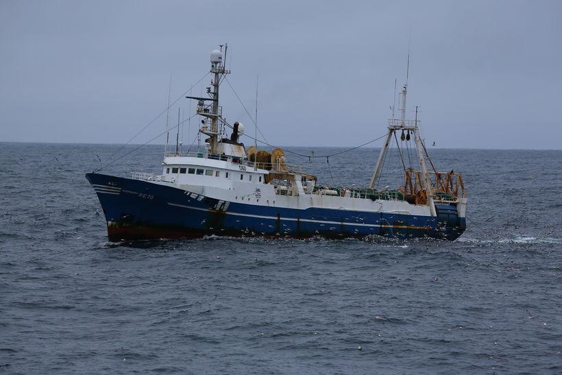 Kleifaberg RE-70, skip Útgerðarfélags Reykjavíkur.