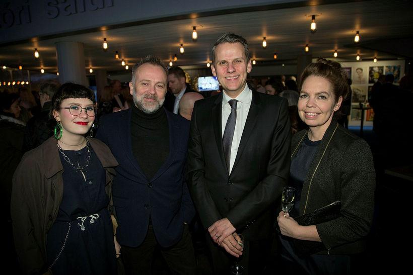 Emilia Bergsdóttir, Bergur Þór Ingólfsson, Magnús Geir Þórðarson og Ingibjörg ...
