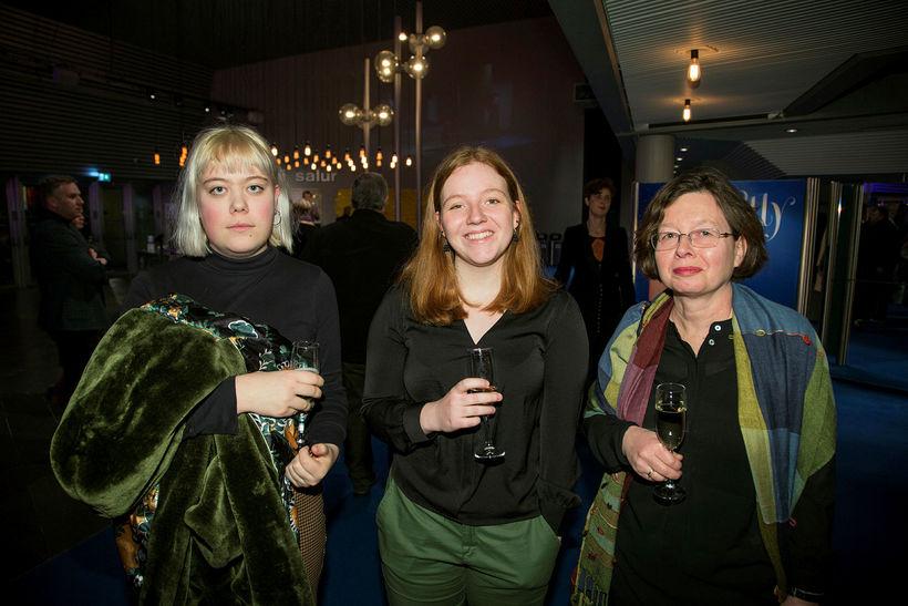 Margrét Erla Þórsdóttir, Marta Björk Atladóttir og Bryndís Dagsdóttir.