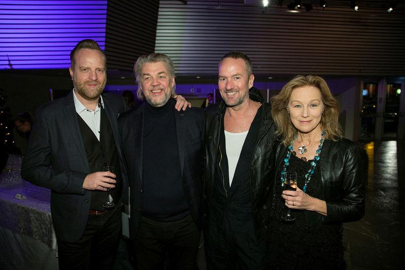 Axel Hallkell, Helgi Björnsson, Hrafnkell Sigurðsson og Vilborg Halldórsdóttir.
