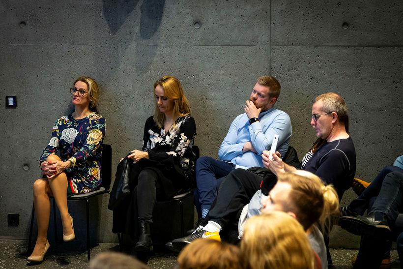 Fyrirlesturinn var haldinn á vegum MBA-deildarinnar í Háskóla Íslands.
