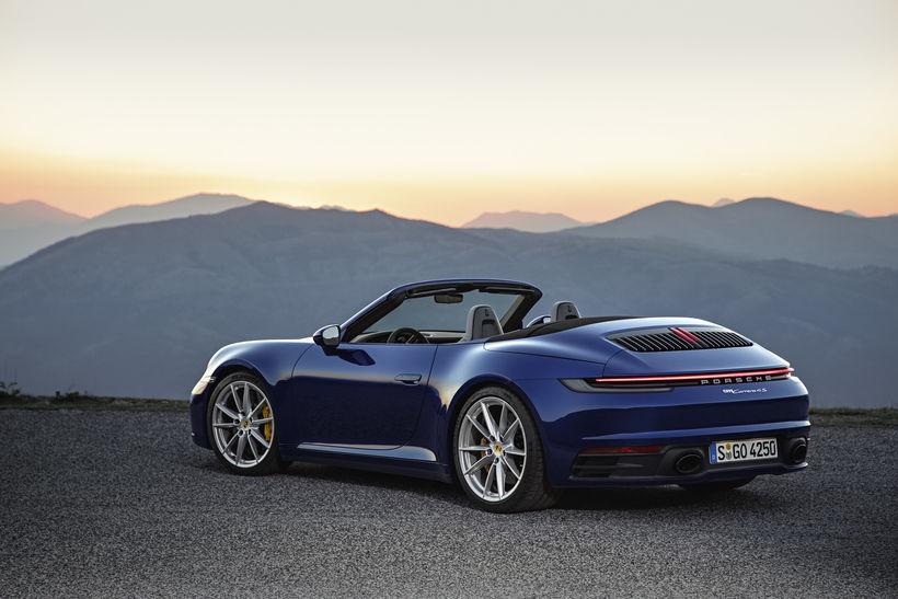 Nýi blæjubíll Porsche.
