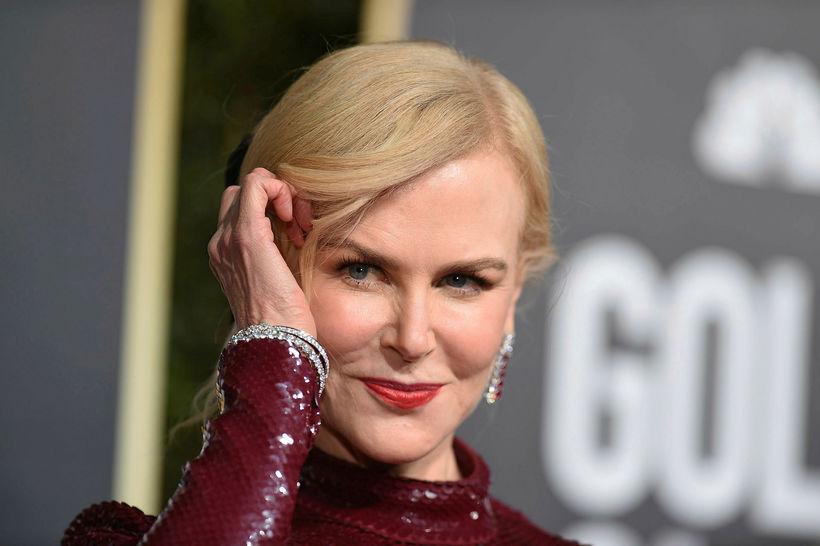Nicole Kidman virtist hunsa Rami Malek.