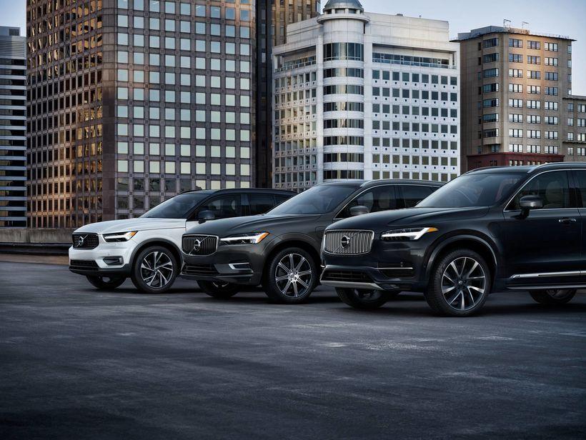 Volvo jepparnir XC90, XC60 og XC40 hafa verið vinsælir að ...