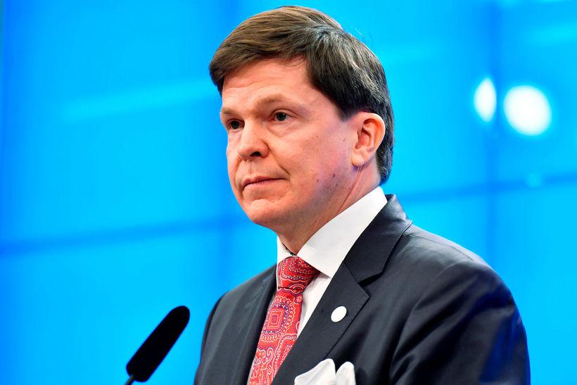 Andreas Norlén, forseti sænska þingsins.