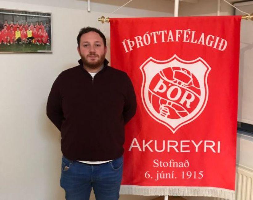 Perry Mclachlan við Þórsmerkið.