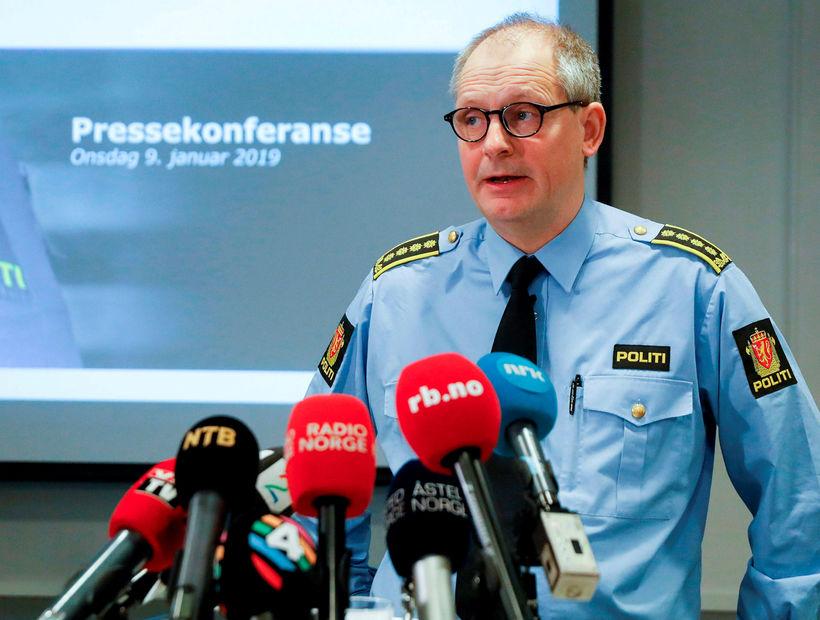 Lögreglumaðurinn Tommy Brøske fer með rannsókn málsins.