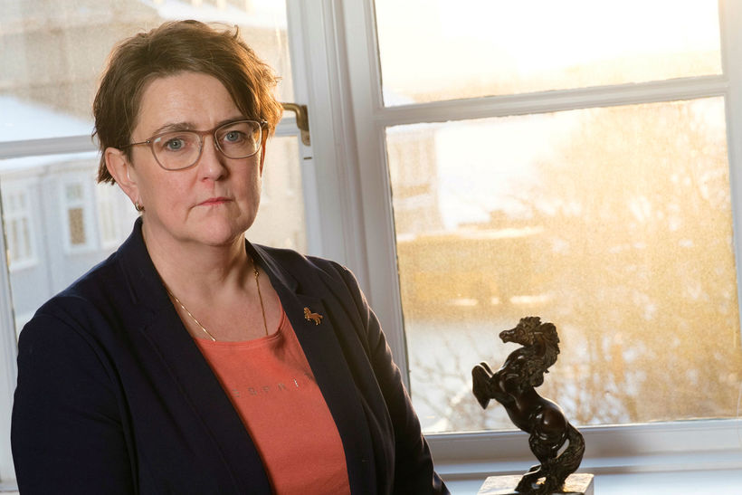 Anna Kolbrún Árnadóttir er á útleið.
