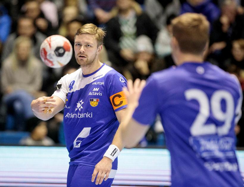 Aron Pálmarsson og Ómar Ingi Magnússon.