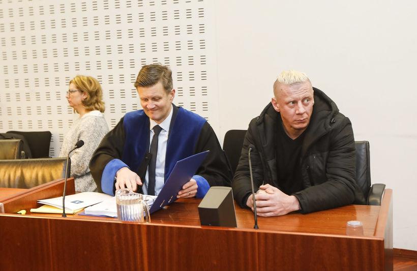 Dawid Kornacki í Héraðsdómi Reykjavíkur í dag.