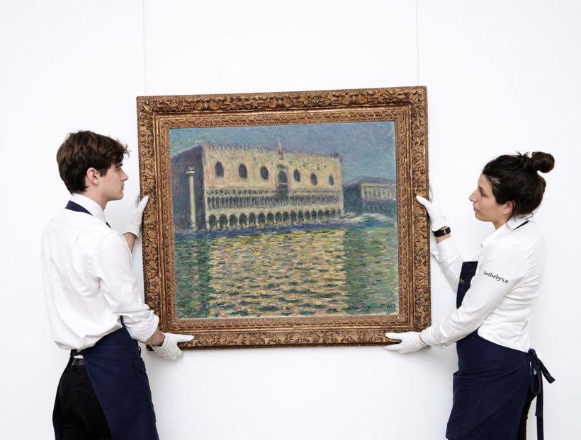 Málverk Claude Monet, Le Palais Ducal.