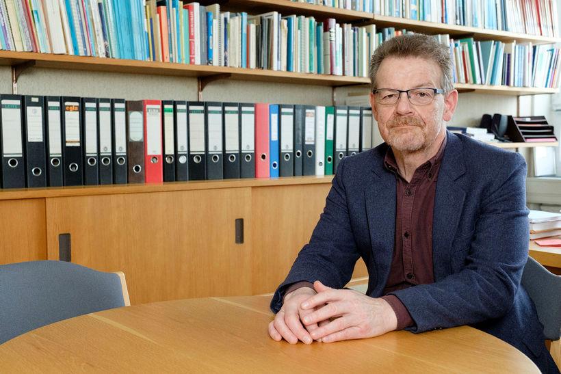 Eiríkur Rögnvaldsson.