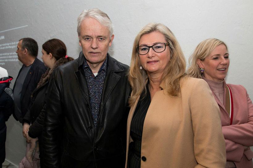 Eiríkur Jónsson og Alma Möller.