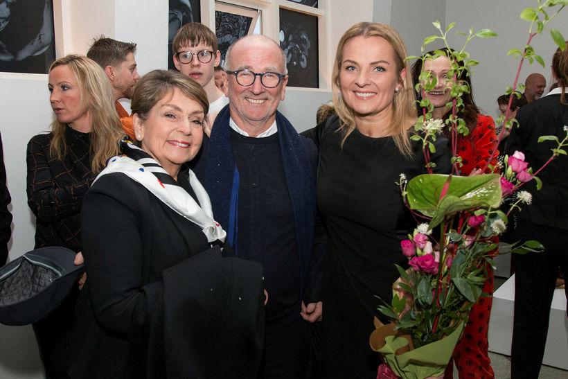 Anna Lovísa Tryggvadóttir, Heimir Sindrason og Sigga Heimis.