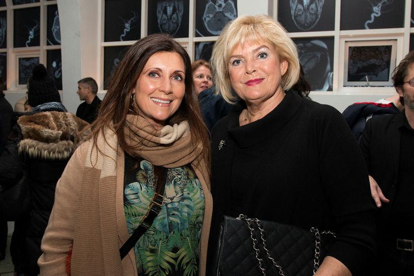 Borghildur Erlingsdóttir og Sólveig Pétursdóttir.