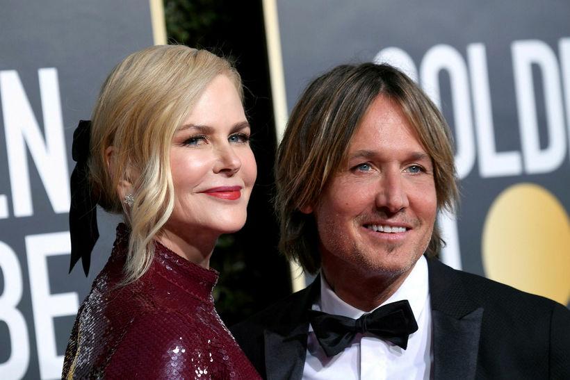 Nicole Kidman er gift tónlistarmanninum Keith Urban.
