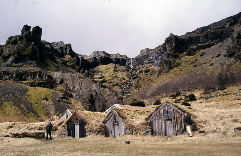 Núpsstaður is the eastern most farm in West Skaftafellssýsla. It's ...