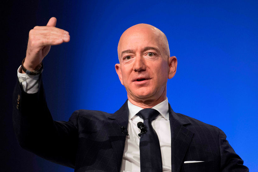 Ætli Stofnandi Amazon, Jeff Bezos, hafi verið með mentor?