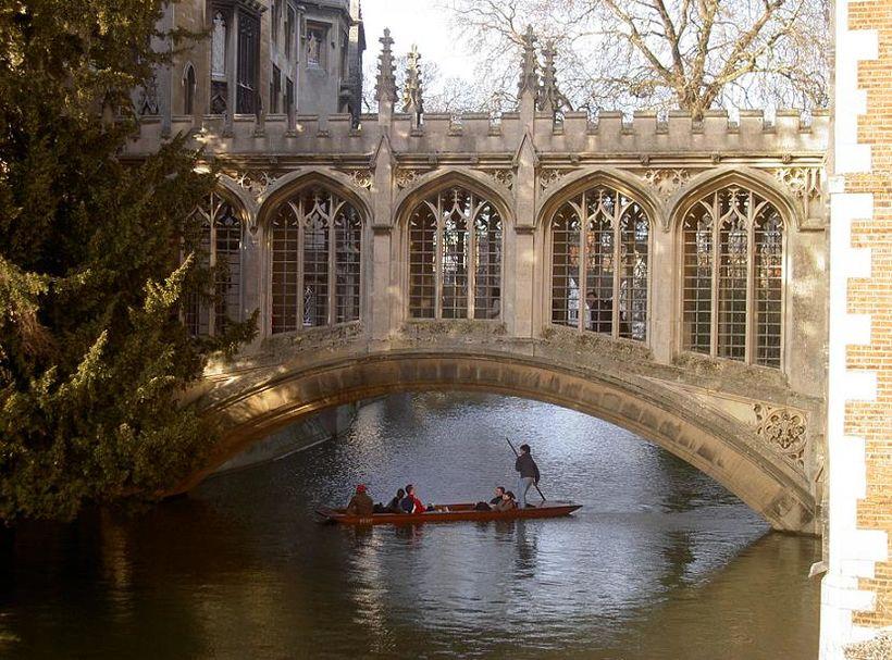 Segja mætti að Cambridge væri Feneyjar Bretlands.