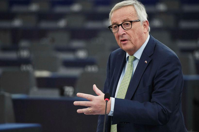 Jean Claude Juncker, forseti framkvæmdastjórnar Evrópusambandsins.