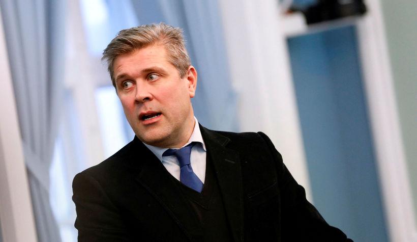 Bjarni Benediktsson á Alþingi.