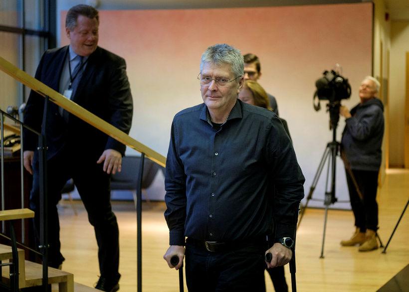 Guðmundur Ingi Kristinson, þingmaður Flokks fólksins.