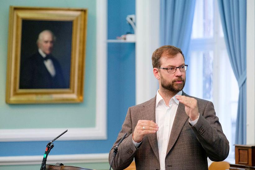 Björn Leví Gunnarsson.