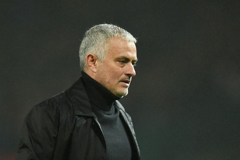 José Mourinho er með United í 8. sæti, átján stig ...
