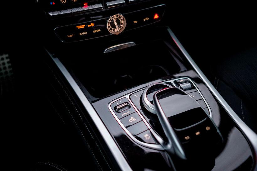 Allt er fágað í Mercedes Benz G-Class.
