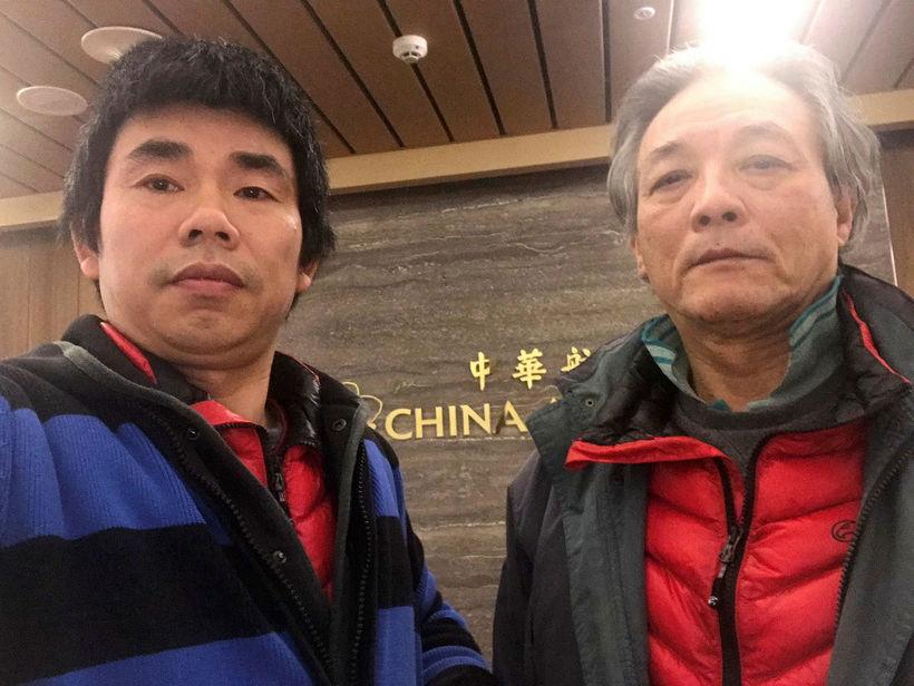 Yan Kefen og Liu Xinglian.