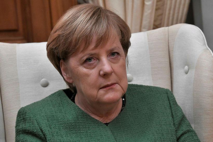 Angela Merkel, kanslari Þýskalands, segir það undir Bretum komið að ...