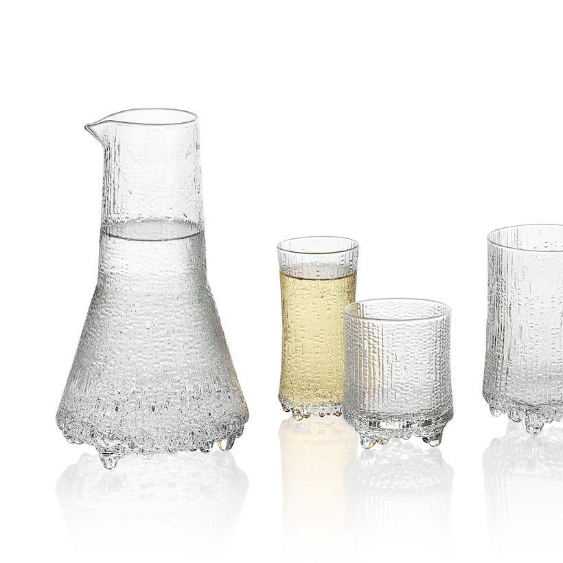 Ittala glassware.