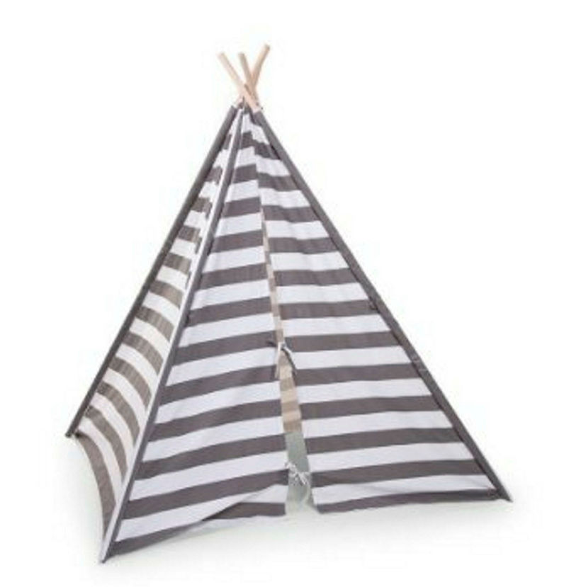 A teepee in a neutral colour is neccessary for a ...