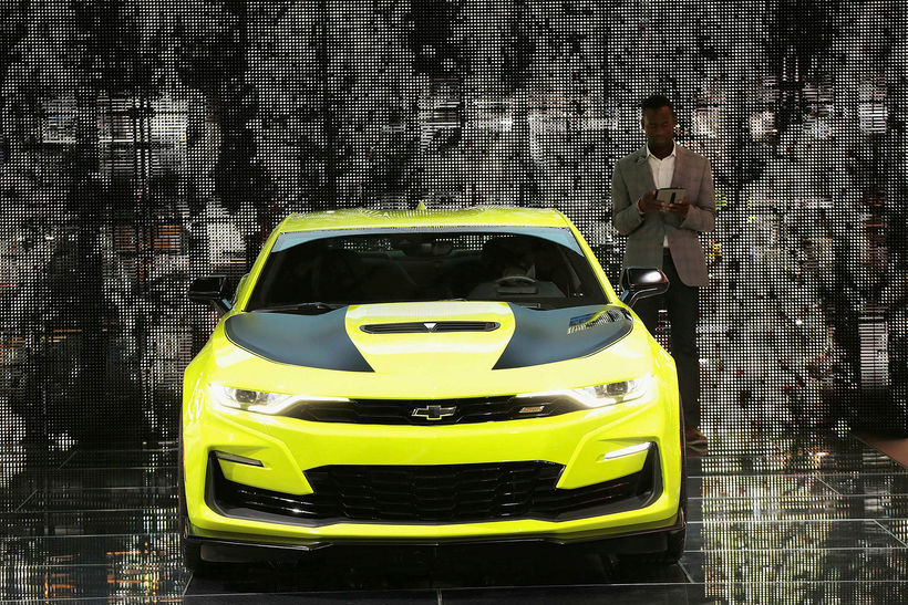 Chevrolet státaði af Camaro í Detroit.