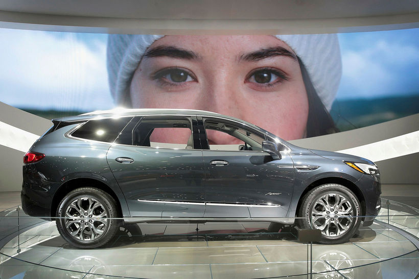 Buick Enclave Avenir í Detroit.
