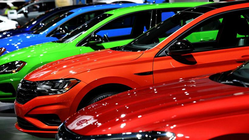 Volkswagen tefldi fram fjölda módela í Detroit.