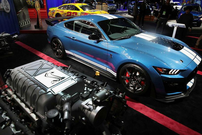 Ford mætti til leiks í Detroit með hinn nýja 700+ ...