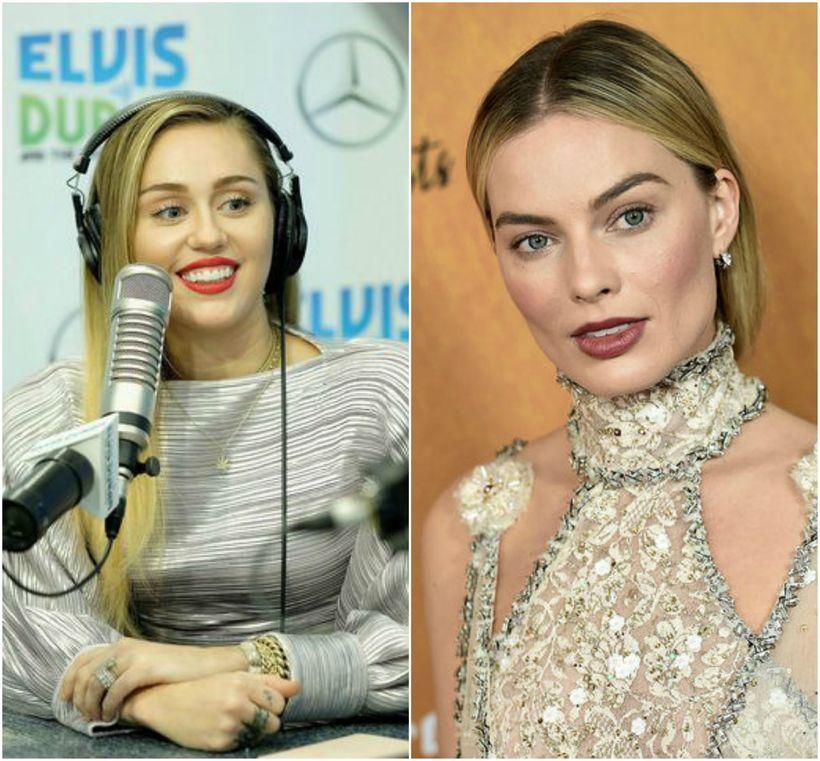 Miley Cyrus og Margot Robbie eru giftar en eiga ekki ...