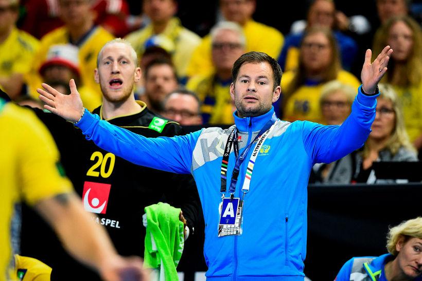 Kristján Andrésson, þjálfari sænska landsliðsins.