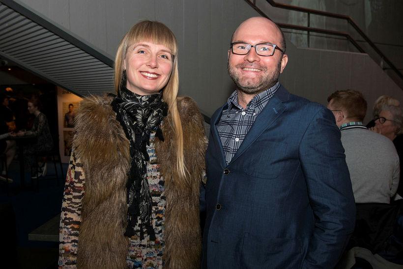 Ásta Katrín Hannesdóttir og Tryggvi Helgason.