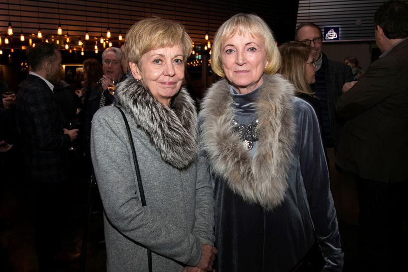 Þórhildur Róbertsdóttir og Oktavía Ágústsdóttir.